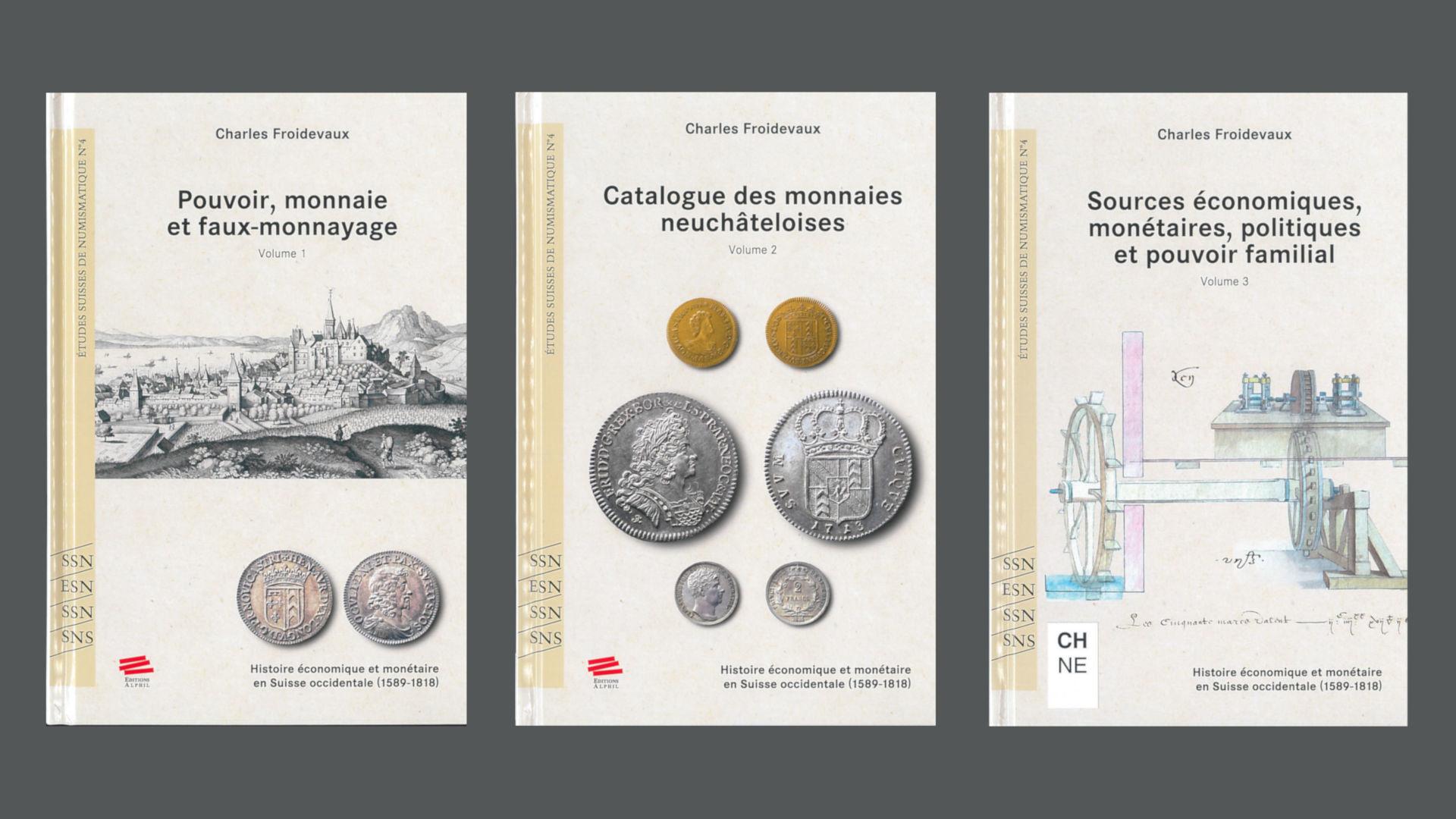 Historie économique et monétaire en Suisse occidentale (1589–1818)