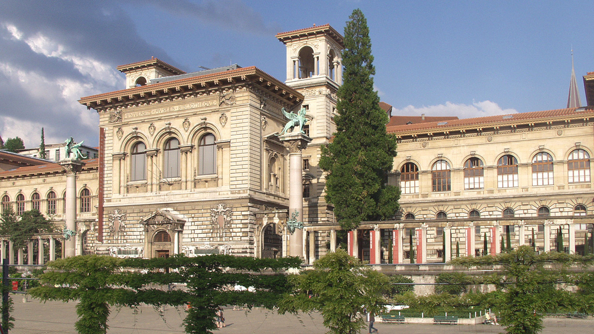 Lausanne, Palais de Rumine