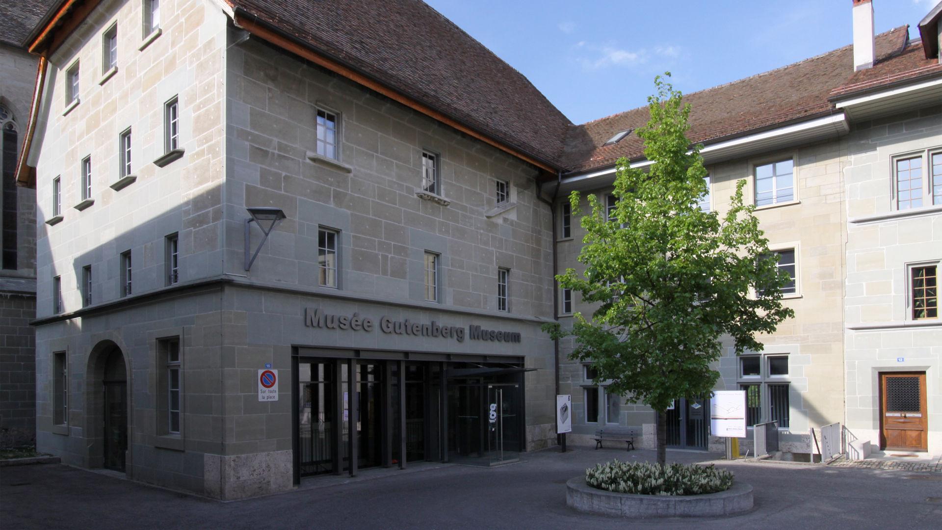 Fribourg, Musée Gutenberg