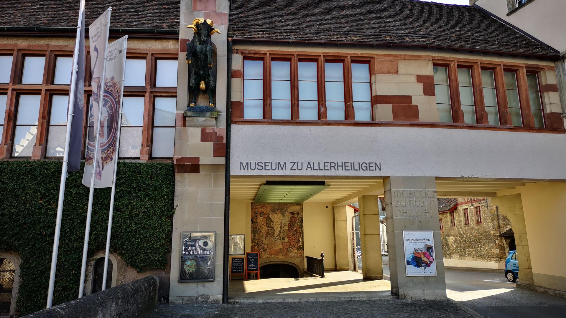 Schaffhausen, Museum zu Allerheiligen