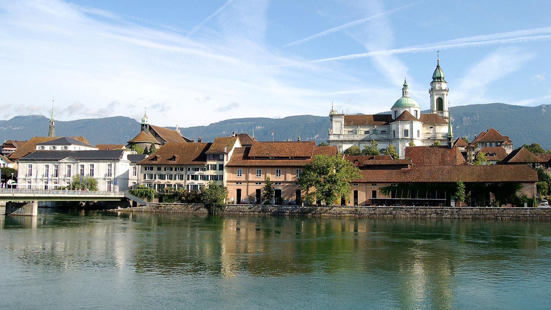 Solothurn, Blick auf die Altstadt