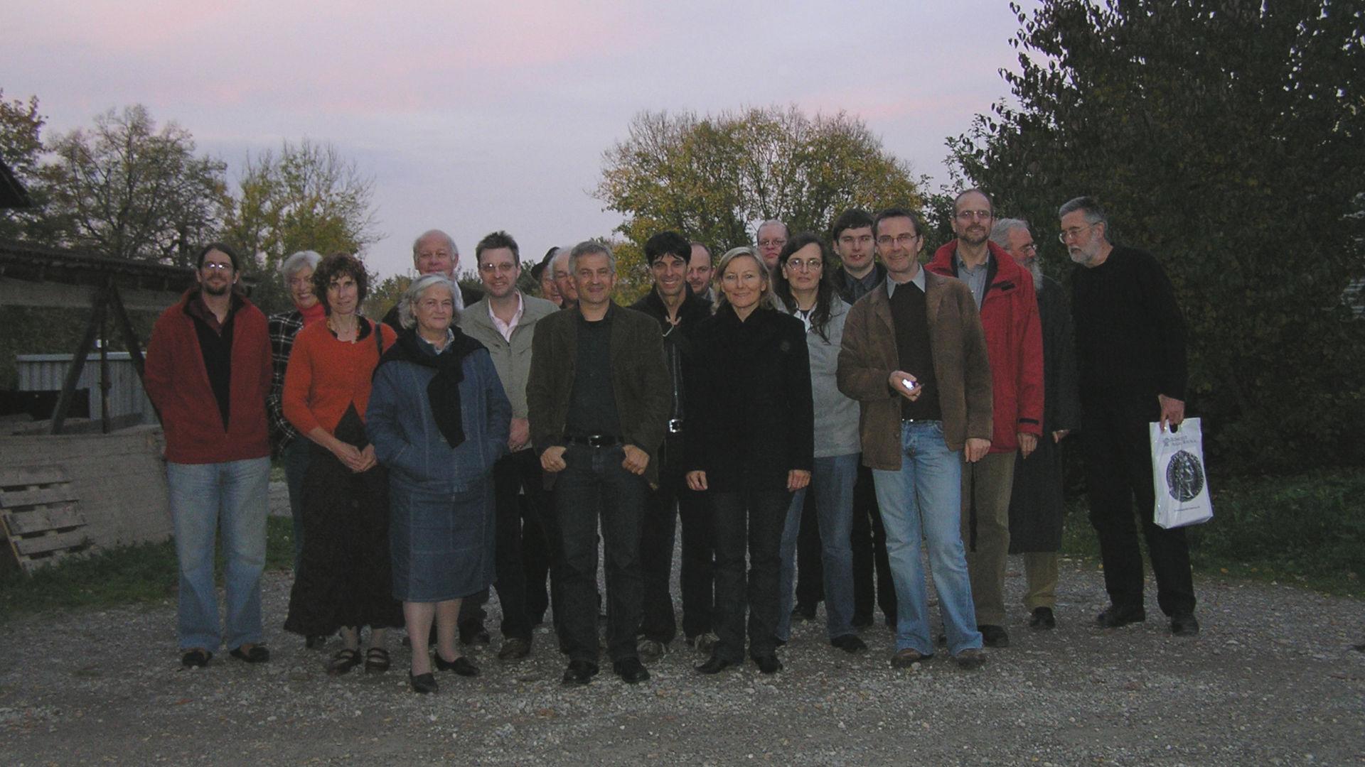Gruppenfoto Arbeitskreis für Experimentelle Numismatik
