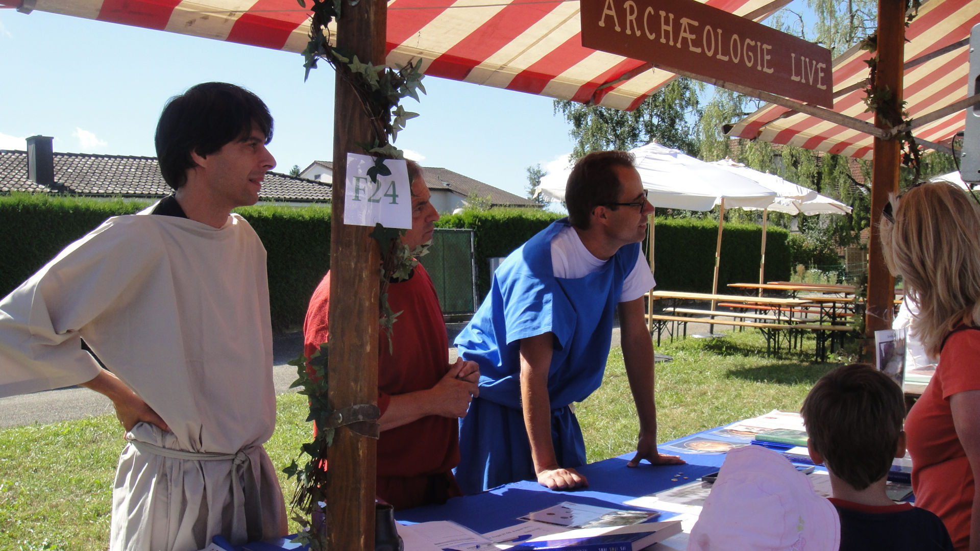Der Stand des IFS am Römerfest 2011 in Augst