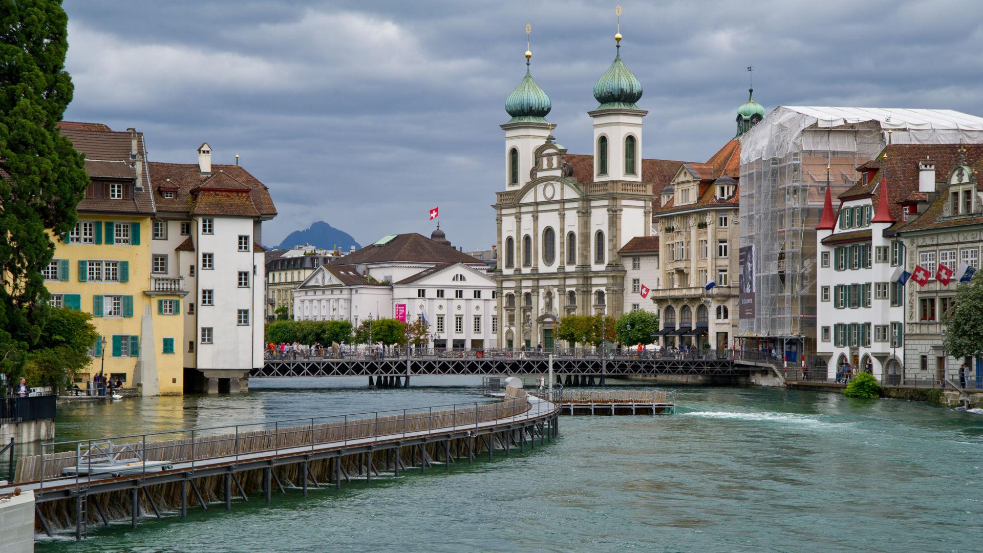 Luzern, Nadelwehr