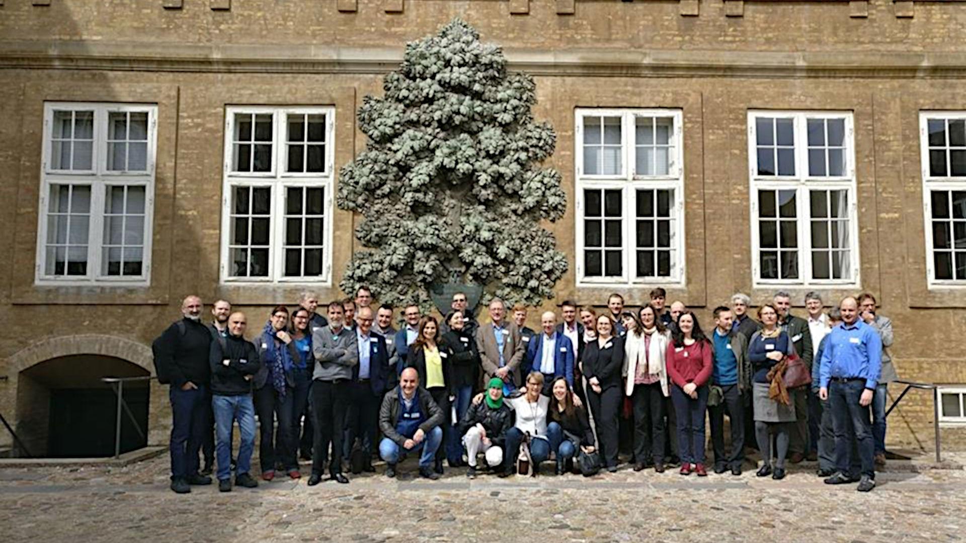 Gruppenbild der Teilnehmer am ECFN/Nomisma.org-Meeting in København