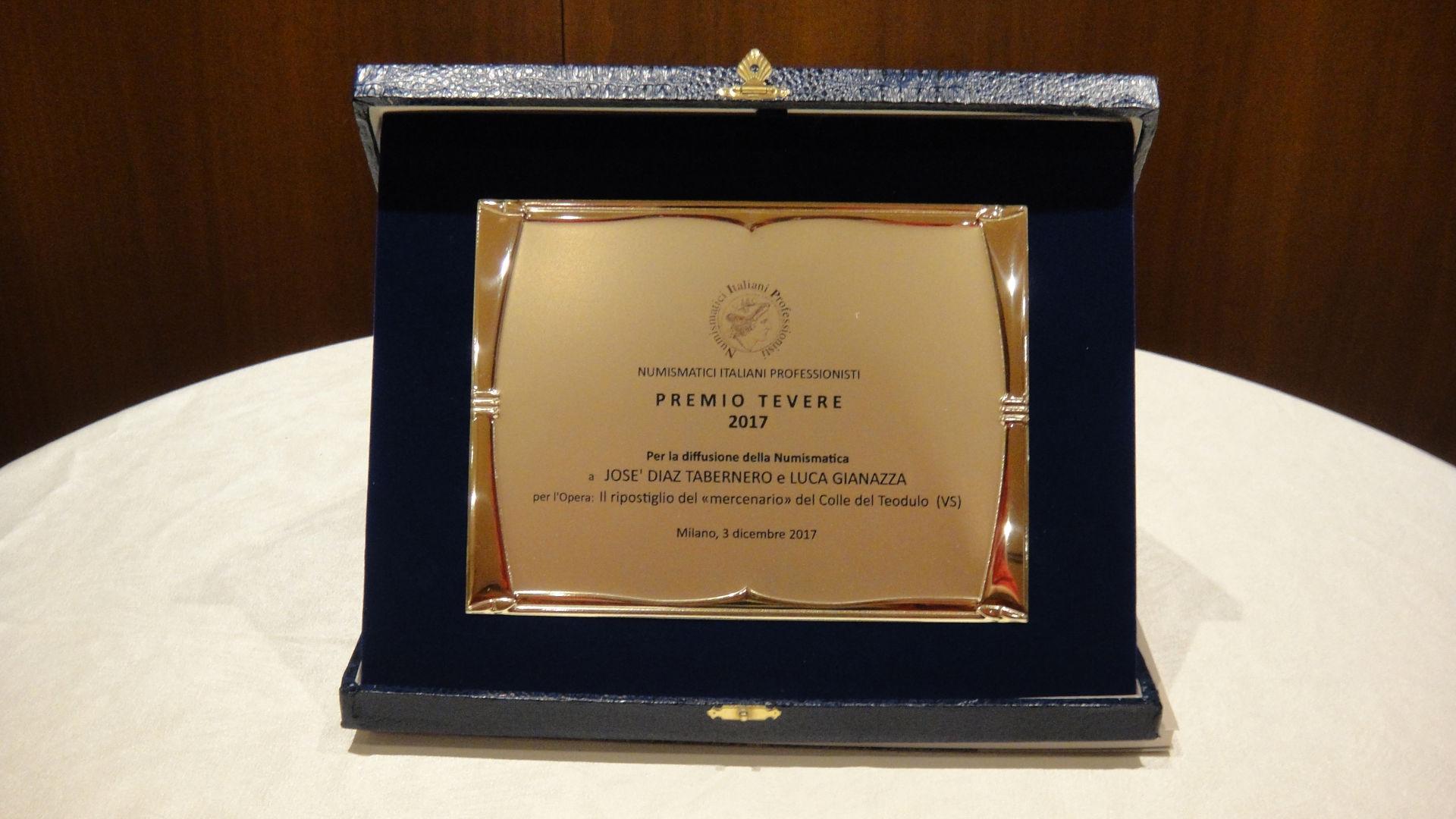 Grossansicht des Preises «NIP Emilio Tevere» 2017