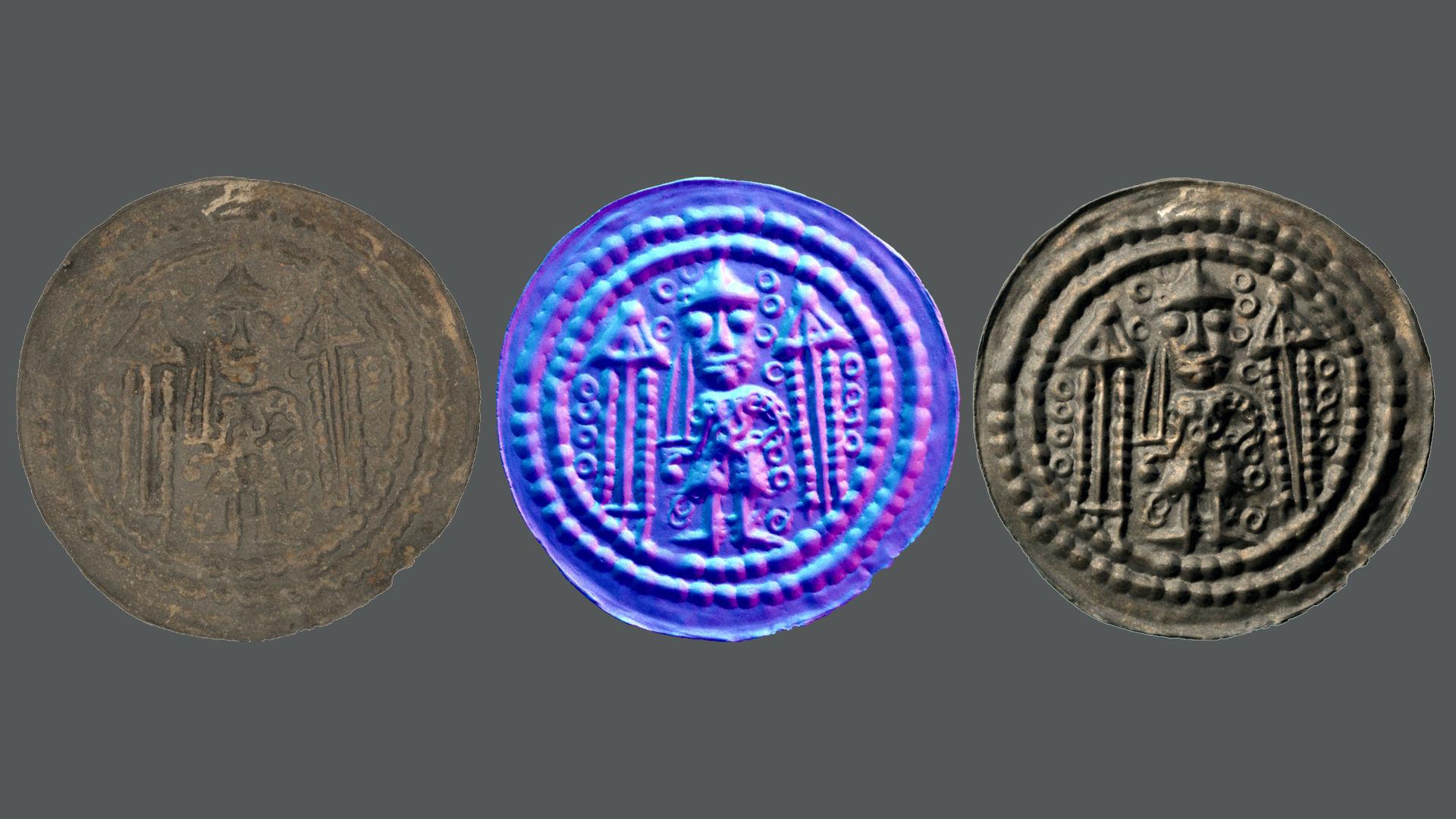 Münze des Münzherren Konrad Markgraf von Meissen (Prägedatum um 1150)